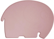 Sebra Silicone placemat Fanto the elephant blossom pink