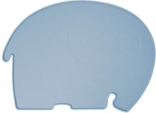 Sebra Silicone placemat Fanto the elephant powder blue