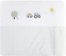 Alvi Changing mat+cover set Farm 70x85 cm