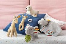 Steiff Musical toy Seal Tamme 19cm light grey/white