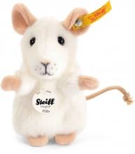 Steiff 056215 mouse Pilla 10 white