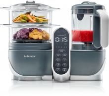 Babymoov Nutribaby + Food processor industrial grey