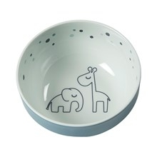 Done by Deer Done by Deer Yummy mini bowl, Dreamy dots, blue