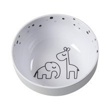 Done by Deer Done by Deer Yummy mini bowl, Dreamy dots, grey