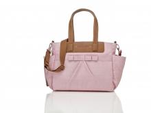 Babymel BM2207 Cara diaper bag Bloom Dusty Pink