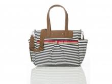 Babymel BM1910 Cara Edition diaper bag Stripe Navy