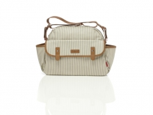 Babymel BM0371 Molly Stripe diaper bag Grey