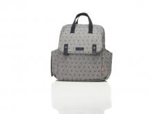 Babymel BM2184 Robyn Convertible Backpack Origami Heart Grey