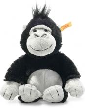Steiff Gorilla Bongy 20cm schwarz/grau