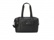 Babymel BM5604 Stef Vegan Leather diaper bag Black