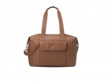 Babymel BM5581 Stef Vegan Leather diaper bag tan
