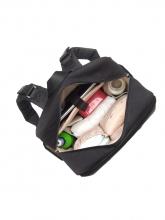 Babymel George Black/Tweed diaper bag