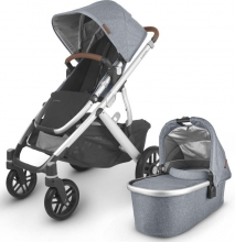 Uppa Baby Vista V2 Gregory blue incl. carrycot