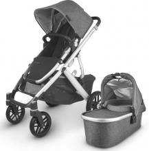Uppa Baby Vista V2 Jordan black/grey incl. carrycot