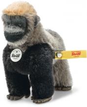 Steiff Gorilla Boogie 11cm Mohair grey/black - Collectors Item