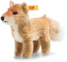 Steiff Fox 12cm Mohair red brown