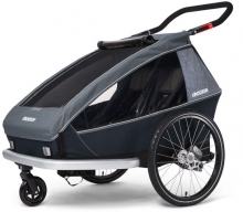 Croozer Kid Vaaya 2 Graphite blue 2020