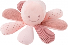 Nattou 879736 Lapidou Activity toy octupus rosa