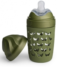 Herobility Eco Baby bottle 220ml forest green