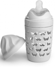 Herobility Eco Baby bottle 220ml mist grey