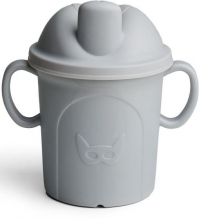 Herobility Eco Sippy Cup 210ml mist grey
