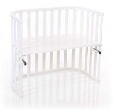 Tobi babybay Co-sleeper bed Maxi Advance white painted wood
