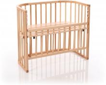 Tobi babybay Co-sleeper bed Comfort natural painted wood