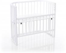Tobi babybay Co-sleeper bed Comfort white painted wood