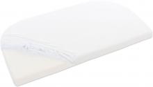 Tobi babybay Jersey fitted sheet white for Original mattresses