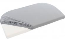 Tobi babybay Jersey fitted sheet grey for Original mattresses