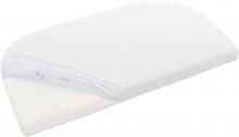 Tobi babybay Jersey fitted sheet off-white for Original mattresses