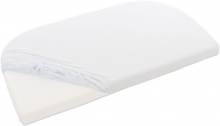 Tobi babybay Jersey fitted sheet off-white for all Maxi/Comfort/Boxspring mattresses