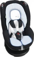 Odenwälder Babycool-child seat inlay Coolmax stripes silver