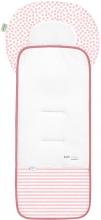 Odenwälder Babycool stroller inlay Coolmax stripes powder