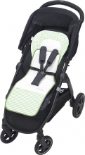 Odenwälder Babycool stroller inlay Coolmax stripes powder