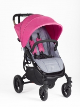 Valcobaby Snap 4 Original Dove Grey incl. Canopy fuchsia
