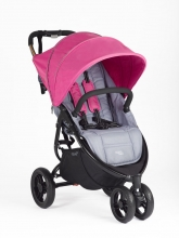 Valcobaby Snap 3 Original Dove Grey incl. Canopy fuchsia