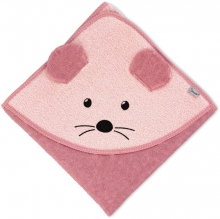Sterntaler Hooded bath towel Mabel 100x100