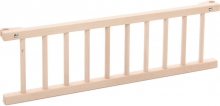 Tobi babybay Grid untreated wood for Maxi/Boxspring