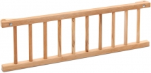 Tobi babybay Grid beech heartwood oiled for Maxi/Boxspring