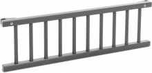 Tobi babybay Grid painted grey for Maxi/Boxspring