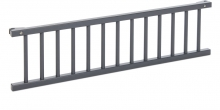 Tobi babybay Grid grey painted wood for Boxspring XXL