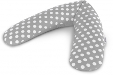 Theraline Nursing pillow Original design 102 Indie Dots grey