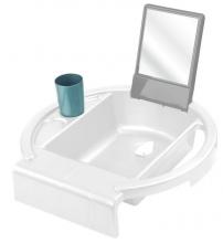 Rotho Kiddy Wash washing-station white/stone grey/lagoon