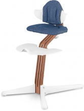 Nomi Highchair premium cushion Denim