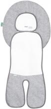 Odenwälder Babycool-car seat inlay Coolmax new woven graphite