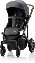 Britax Römer SMILE III Midnight Grey ESSENTIAL BUNDLE (Stroller + seat + carrycot)