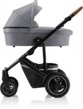 Britax Römer SMILE III Frost Grey ESSENTIAL BUNDLE (Stroller + seat + carrycot)