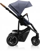 Britax Römer SMILE III Indigo Blue ESSENTIAL BUNDLE (Stroller + seat + carrycot)