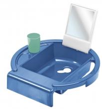 Rotho Kiddy Wash washing-station cool blue/white/swedish green
